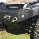 EMP FRONT BUMPER WITH WINCH MOUNT AND LED LIGHTS HONDA PIONER 1000 -14466