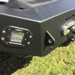EMP FRONT BUMPER WITH WINCH MOUNT AND LED LIGHTS HONDA PIONER 1000 -0