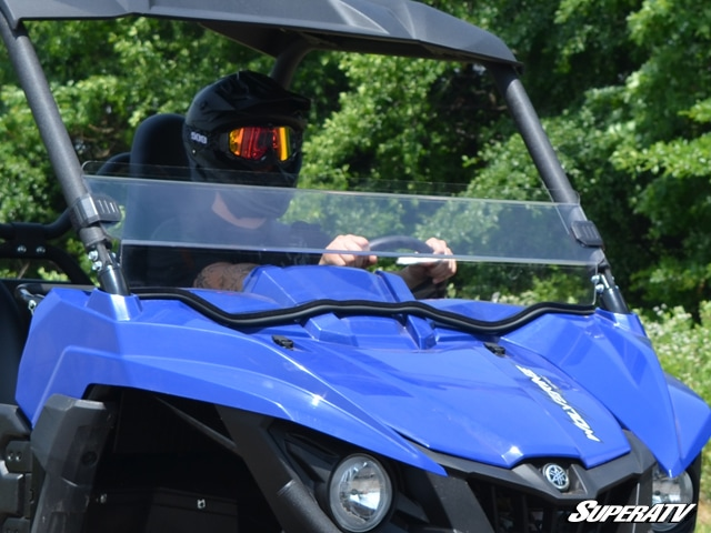 SUPER ATV FULL WINDSHIELD SCRATCH RESISTANT YAMAHA WOLVERINE-0
