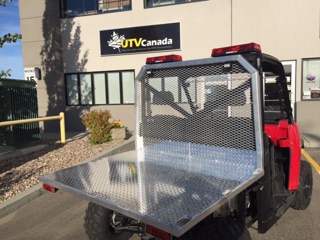 Flatbed With Headache Rack Polaris Ranger Utv Canada