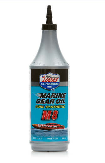 LUCAS OIL SYNTHETIC SAE 75W-90 M8 MARINE GEAR OIL -0