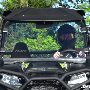 SUPER ATV FULL WINDSHIELD POLARIS RZR 570/800/900 - CLEAR-0