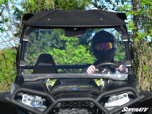SUPER ATV FULL WINDSHIELD POLARIS RZR 570/800/900 - CLEAR-0