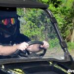 SUPER ATV FULL WINDSHIELD POLARIS RZR 570/800/900 - CLEAR-14297