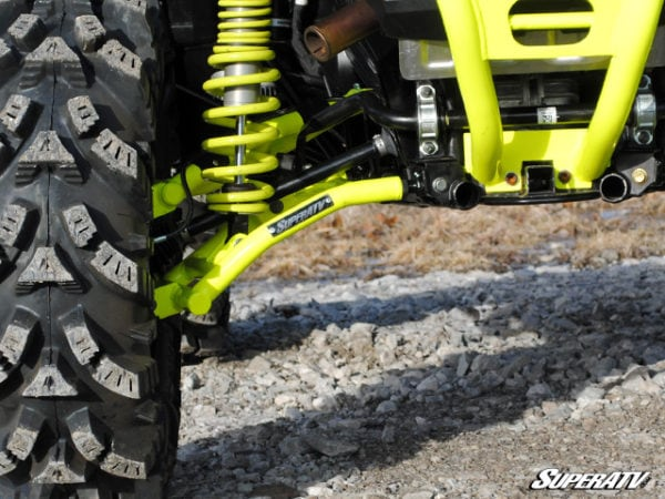"SUPER ATV HIGH CLEARANCE 1.5"""" REAR OFFSET/RAKED A-ARMS SET POLARIS RZR S 900/S 1000 2015-2016 - ORANGE-0"