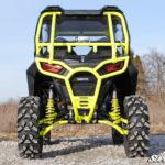 "SUPER ATV HIGH CLEARANCE 1.5"""" REAR OFFSET/RAKED A-ARMS SET POLARIS RZR S 900/S 1000 2015-2016 - ORANGE-14724"