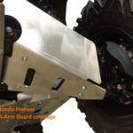 RICOCHET FRONT AND REAR A-ARMGUARDS 4 PIECES HONDA PIONEER 1000 - ALUMINUM-0