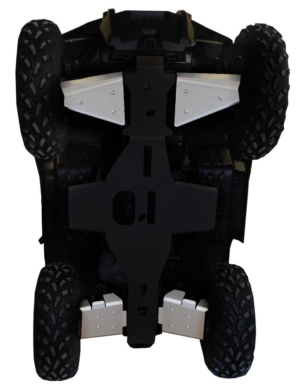 RICOCHET FRONT AND REAR A-ARM GUARDS 4 PIECES POLARIS SPORTSMAN 570 - ALUMINUM-0