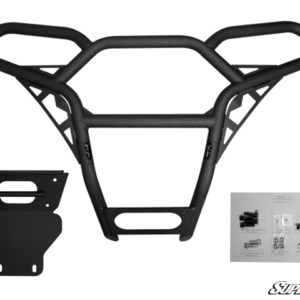 SUPER ATV FRONT BUMPER POLARIS RZR 570/800/900 - BLACK-0
