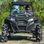 SUPER ATV FRONT BUMPER POLARIS RZR 570/800/900 - BLACK-14993