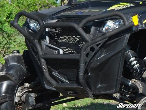 SUPER ATV FRONT BUMPER POLARIS RZR 570/800/900 - BLACK-14994