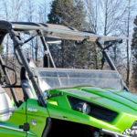 SUPER ATV FLIP WINDSHIELD SCRATCH RESISTANT KAWASAKI TERYX 800/TERYX 4 2014-2015-0