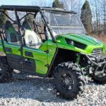 SUPER ATV FLIP WINDSHIELD SCRATCH RESISTANT KAWASAKI TERYX 800/TERYX 4 2014-2015-14928