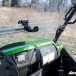 SUPER ATV FLIP WINDSHIELD SCRATCH RESISTANT KAWASAKI TERYX 800/TERYX 4 2014-2015-14924