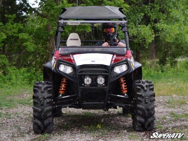 SUPER ATV FLIP WINDSHIELD SCRATCH RESISTANT POLARIS RZR 800-14834