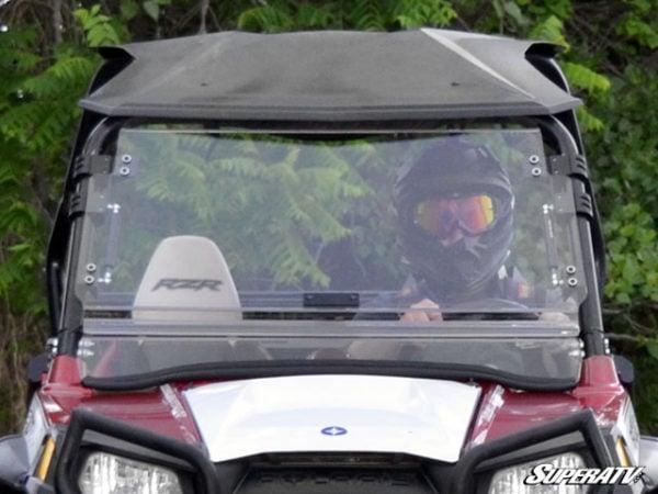 SUPER ATV FLIP WINDSHIELD SCRATCH RESISTANT POLARIS RZR 800-0