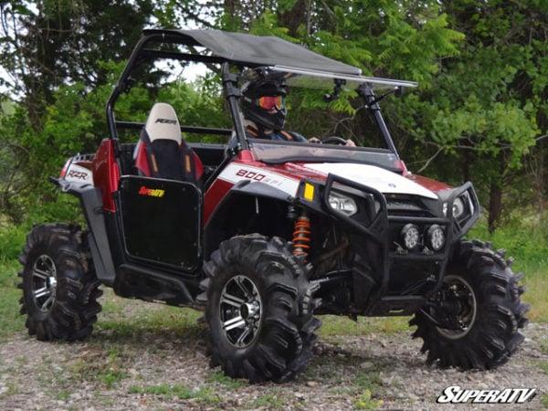 SUPER ATV FLIP WINDSHIELD SCRATCH RESISTANT POLARIS RZR 800-14836