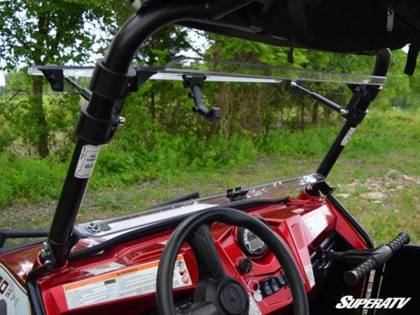SUPER ATV FLIP WINDSHIELD SCRATCH RESISTANT POLARIS RZR 800-14837
