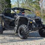 SUPER ATV HALF WINDSHIELD SCRATCH RESISTANT CAN-AM MAVERICK X3 - CLEAR-14975