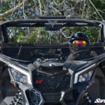 SUPER ATV HALF WINDSHIELD SCRATCH RESISTANT CAN-AM MAVERICK X3 - TINTED-0