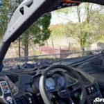 SUPER ATV HALF WINDSHIELD SCRATCH RESISTANT CAN-AM MAVERICK X3 - CLEAR-14976