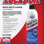 LUCAS OIL BRAKE PARTS CLEANER - 14OZ/414ML-15019