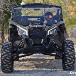 SUPER ATV FULL WINDSHIELD SCRATCH RESISTANT CAN-AM MAVERICK X3 - CLEAR-14991