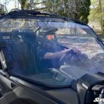 SUPER ATV FULL WINDSHIELD SCRATCH RESISTANT CAN-AM MAVERICK X3 - LIGHT TINT-14982