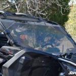 SUPER ATV FULL WINDSHIELD SCRATCH RESISTANT CAN-AM MAVERICK X3 - CLEAR-14990