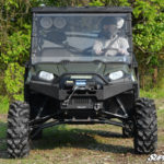 SUPER ATV FULL WINDSHIELD SCRATCH RESISTANT POLARIS RANGER 500/700/800 -0