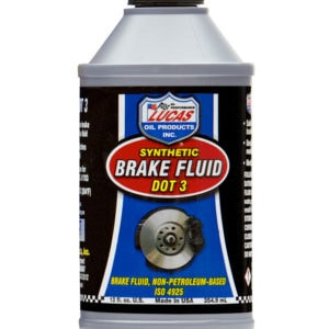 LUCAS OIL SYNTHETIC BRAKE FLUID DOT 3 - 12OZ/355ML-0