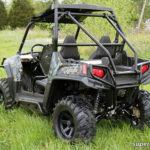 SUPER ATV ROCK SLIDING NERF BARS POLARIS RZR - BLACK-15032