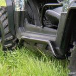 SUPER ATV ROCK SLIDING NERF BARS POLARIS RZR - BLACK-15033
