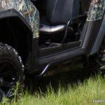 SUPER ATV ROCK SLIDING NERF BARS POLARIS RZR - BLACK-15037