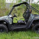 SUPER ATV ROCK SLIDING NERF BARS POLARIS RZR - BLACK-15038