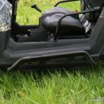 SUPER ATV ROCK SLIDING NERF BARS POLARIS RZR - BLACK-15036