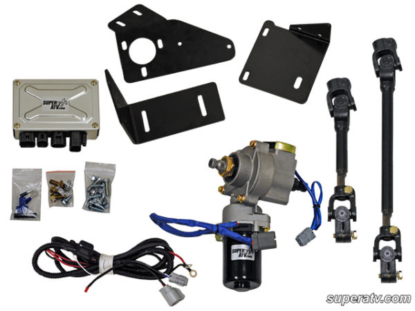 SUPER ATV EZ-STEER POWER STEERING KIT CAN-AM COMMANDER - 2011-2014-0