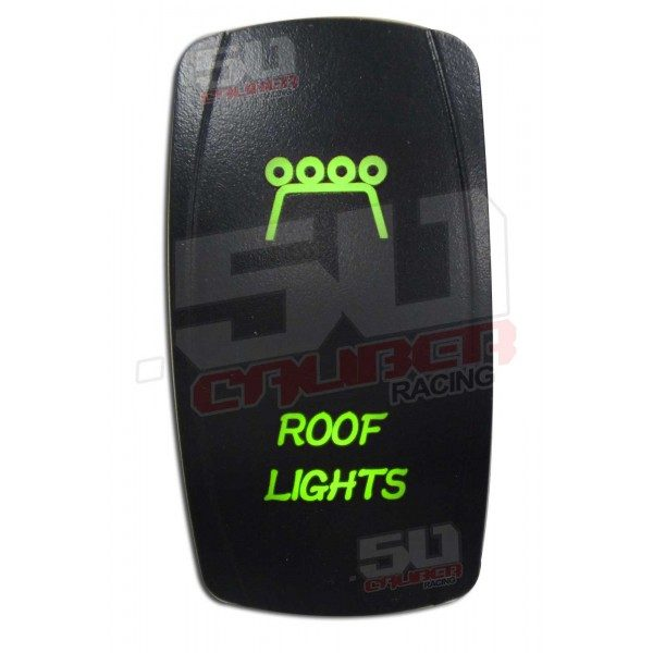 ROOF LIGHTS ILLUMINATED ROCKER SWITCH-15154