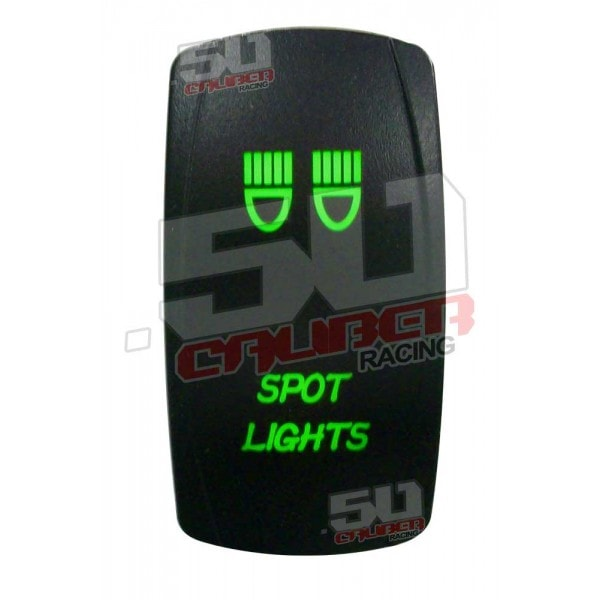 SPOT LIGHT ILLUMINATED ROCKER SWITCH-0