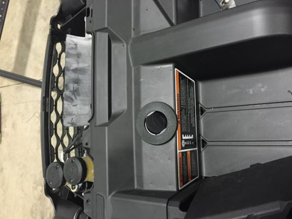 CAB HEATER WITH DEFROST FLOOR MOUNT CAN-AM DEFENDER 1000-15449