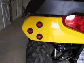 SM LED ATV TURN SIGNAL KIT W/ FLASHERS & WIRE KIT