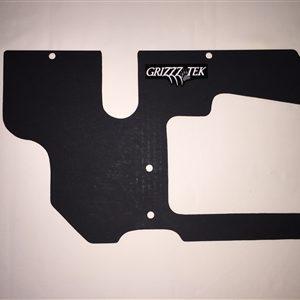 GRIZZZTEK REAR FUEL TANK GUARD POLARIS GENERAL 1000 - BLACK-0