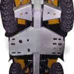 RICOCHET SKID PLATE 5 PIECES CAN-AM OUTLANDER 500/650/800 MAX GEN 1 - ALUMINUM-0