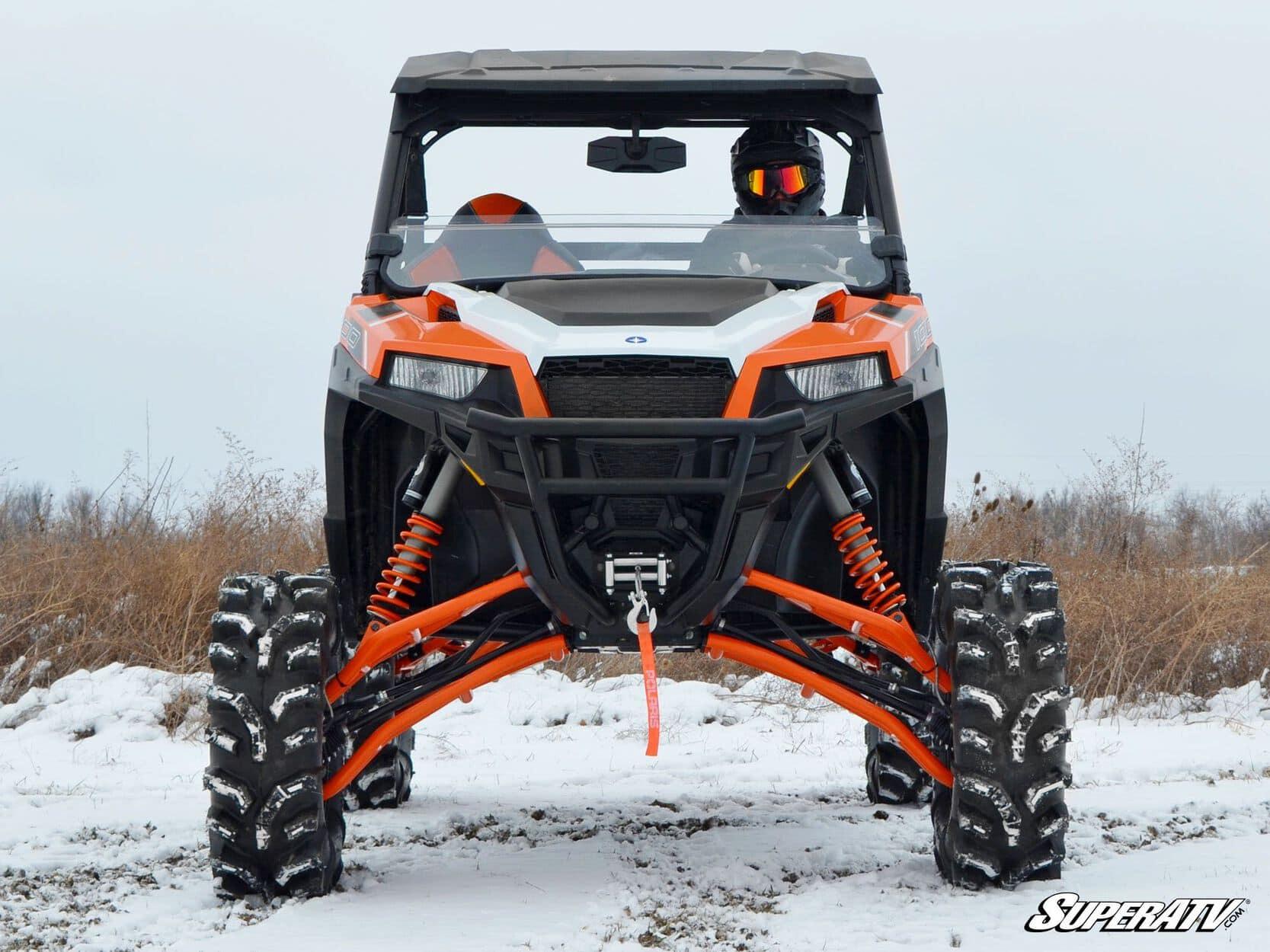 """SUPER ATV 7""""""""-10"""""""" LIFT KIT POLARIS GENERAL - BLACK-0"""