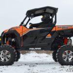 """SUPER ATV 7""""""""-10"""""""" LIFT KIT POLARIS GENERAL - BLACK-15415"""