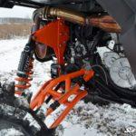 """SUPER ATV 7""""""""-10"""""""" LIFT KIT POLARIS GENERAL - BLACK-15417"""