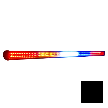 "STAR LIGHT BARS 34.75"""" LED REAR LIGHT BAR AMBER BLUE FLASH WHITE CARGO INTEGRATED BRAKE LIGHTS - KIT-0"