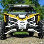 SUPER ATV FRONT BUMPER YAMAHA YXZ - BLACK-0
