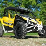 SUPER ATV FRONT BUMPER YAMAHA YXZ - BLACK-15364
