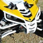 SUPER ATV FRONT BUMPER YAMAHA YXZ - BLACK-15362